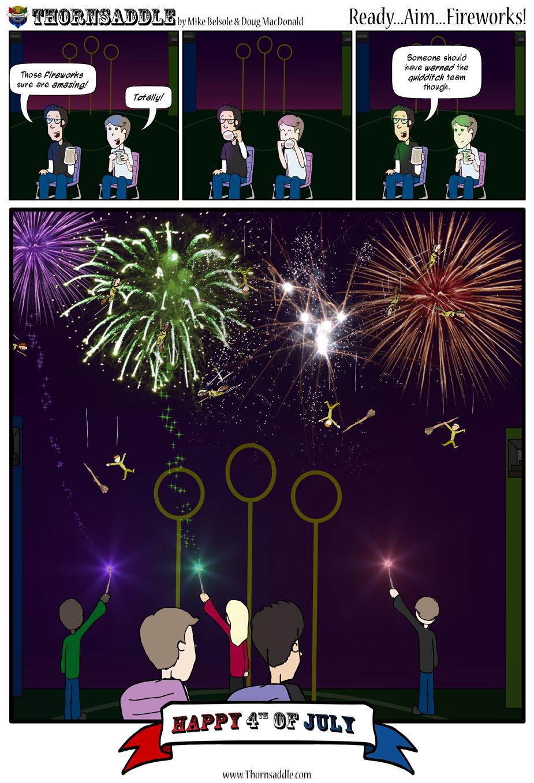 Ready...Aim...Fireworks!