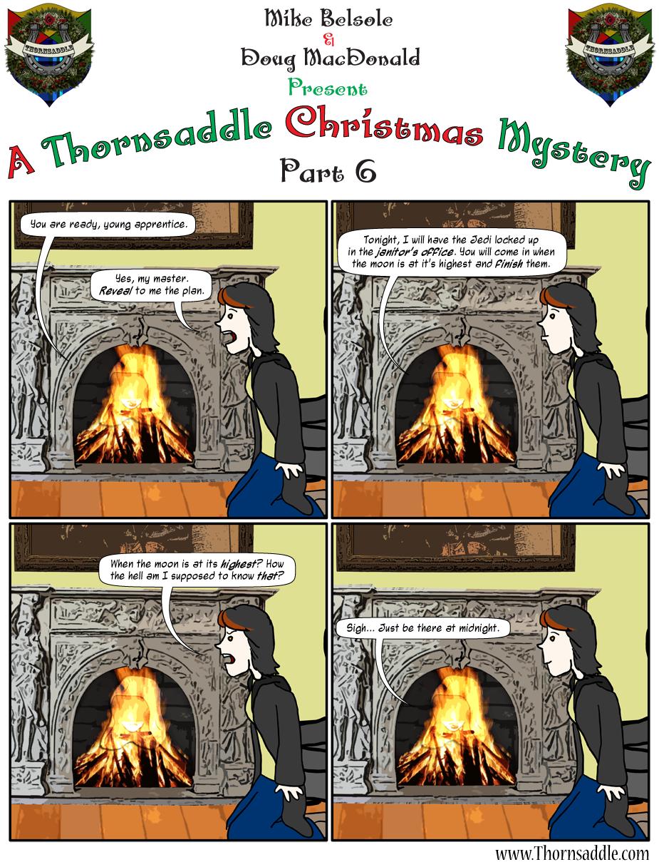 A Thornsaddle Christmas Mystery: Part 6