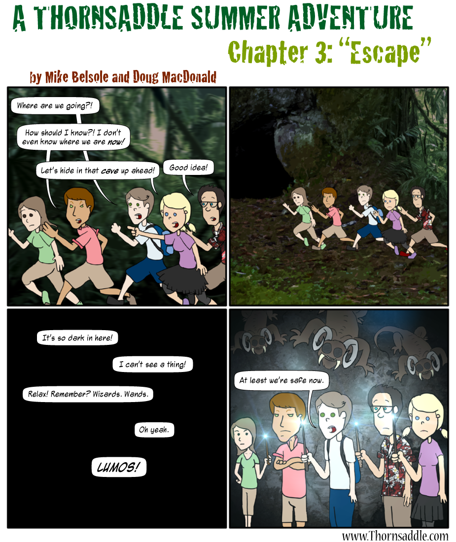 A Thornsaddle Summer Adventure: Chapter Three