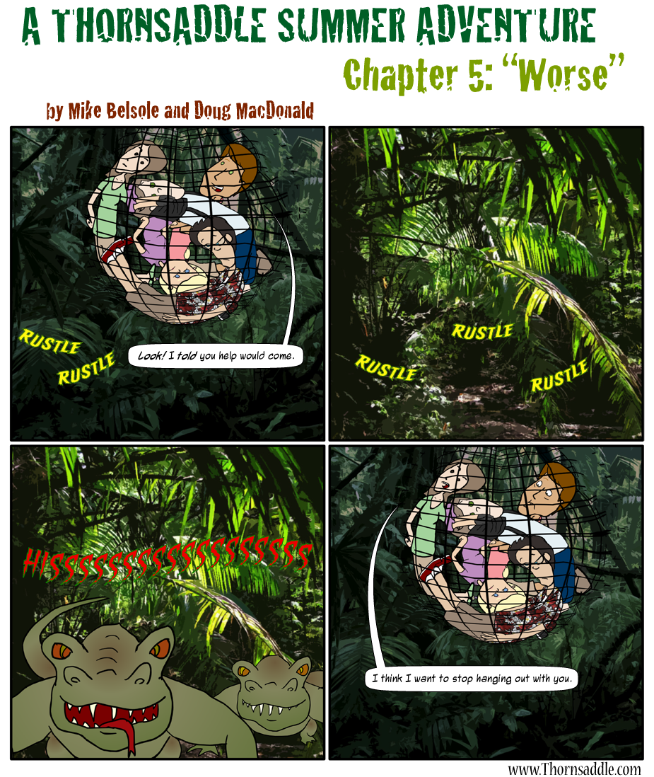 A Thornsaddle Summer Adventure: Chapter Five